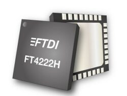 FT4222H - USB 2.0 to Quad I2C/SPI device controller IC
